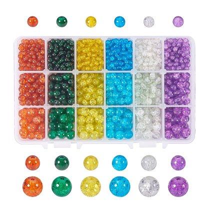 Granos de cristal craqueados pintados con aerosolCCG-PH0002-04-1