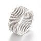 304 bases del anillo de dedo de acero inoxidableX-MAK-R010-18mm-1