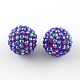 AB-Color Resin Rhinestone Beads RESI-S315-16x18-06-1