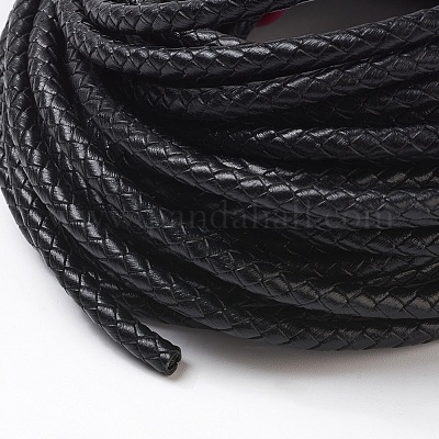 PH PandaHall Gold Black 5mm Decorative Twisted Cord Nylon Cord Rope String Thread for Home D/écor 36 Yards Totally Embellish Costumes Christmas Bag Drawstrings Honor Cord