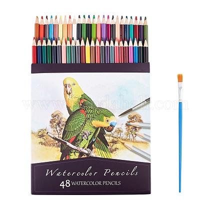 48 juego de lápices de colores de coloresAJEW-WH0114-63-1