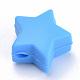 Abalorios de silicona ambiental de grado alimenticioSIL-T041-05-2