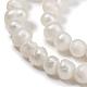 Perlas naturales abalorios de agua dulce cultivadasX-PEAR-D050-1-4