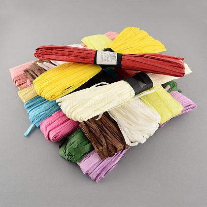 Cable de cuerda de papel de rafia para diyDIY-S003-06-1