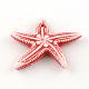Abalorios tema del océano acrílico estilo artesanalSACR-S757-01-3