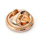 Broches de gatito de esmalte de aleaciónJEWB-Q026-85KC-3