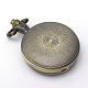 Zinc reronda cabezas reloj peinado plano de la vendimia de la aleación de cuarzoWACH-R008-13-4