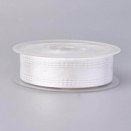 Ruban satin polyester simple faceSRIB-L041-15mm-A030-1