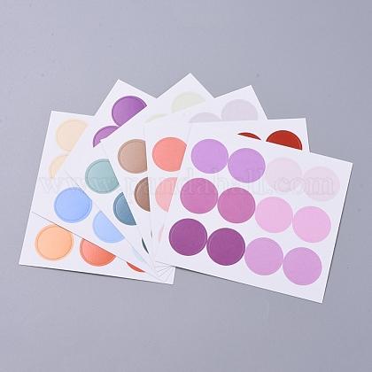 Etiquetas adhesivas decorativas de puntosDIY-L037-H02-1