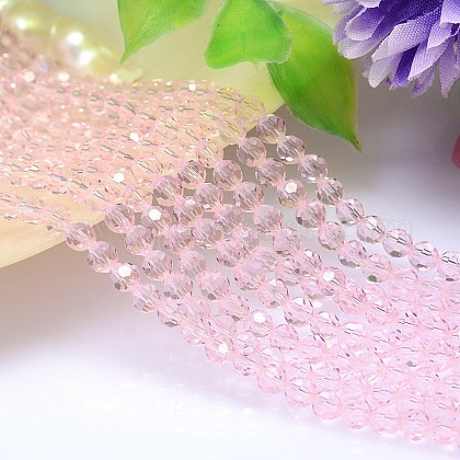 Imitation Austrian Crystal Bead Strands G-M181-10mm-03A-1