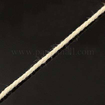Round Cotton Twist Threads CordsOCOR-L006-B-15-1