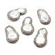 Perlas naturales abalorios de agua dulce cultivadasRB-A062-074-1