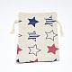 ポリコットン(ポリエステルコットン)パッキングポーチ巾着袋ABAG-T004-10x14-06-2