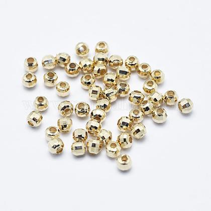 Латунные бусиныKK-G331-53G-2.5mm-NF-1
