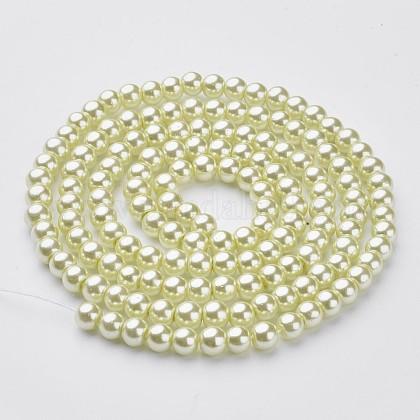 Стеклянные жемчужные бусиныHY-6D-B04-1