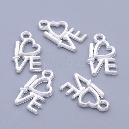 For Valentine's Day Tibetan Style Alloy PendantsK090H022-1