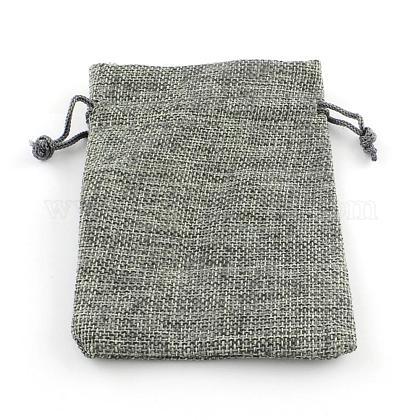黄麻布ラッピングポーチ巾着袋ABAG-R005-17x23-04-1