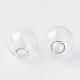 Round Mechanized Blown Glass Globe BeadsX-BLOW-R001-18mm-2