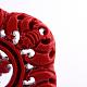 Carved Cinnabar LinksCARL-Q004-12-3