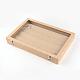 Boîtes d'affichage pendantes en bois et en boisODIS-R003-10-3