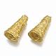 Brass Bead Cone Rhinestone SettingsKK-T040-026-NF-1