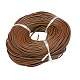 Cowhide Leather Jewelry Cord DIY Necklace Making Material X-WL-A001-12-1