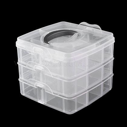 Caja de herramientas plástica del arte del clavoMRMJ-G001-55B-1