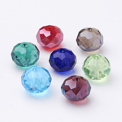Glass BeadsGR7x10mmY-M1-1