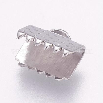 304ステンレス鋼リボンカシメエンドパーツSTAS-E144-080P-C-1