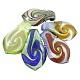 Handmade Silver Foil Glass Big PendantsX-SLSP358J-1