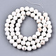 Chapelets de perles en howlite naturelleG-S373-003-6mm-2