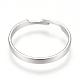 Ajustable 304 bases del anillo de dedo del acero inoxidableX-MAK-R012-10-2