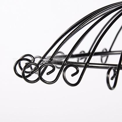 花の鉄のピアスディスプレイスタンドと傘EDIS-N005-01-1