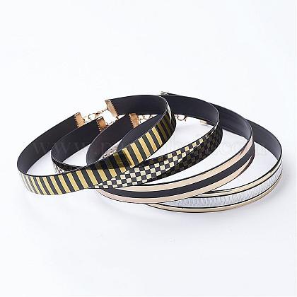 PU Leather Choker NecklacesNJEW-P135-1