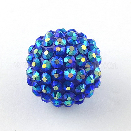 AB-Color Resin Rhinestone BeadsRESI-S315-8x10-17-1