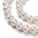 Perlas de agua dulce cultivadas naturales de grado abPEAR-D034-1-5