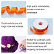 Rubans satin de double face de 100% polyester pour emballages de cadeauxSRIB-L024-3.8cm-751-4