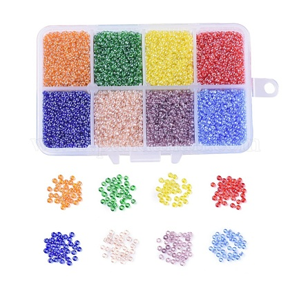 FGB® 12/0 Round Glass Seed BeadsSEED-JP0008-08-1