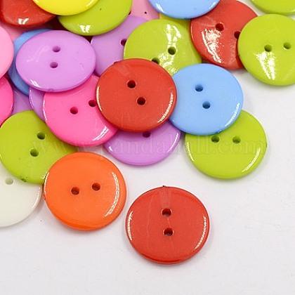 Botones de costura de acrílicoBUTT-E084-A-M-1
