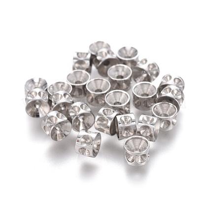 304 Stainless Steel Beads Rhinestone SettingsSTAS-E474-53A-P-1