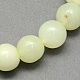 Tache verte naturelle jasper perles rondesG-S160-10mm-1