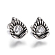 304 Stainless Steel Stud Earrings EJEW-F178-11AS-1
