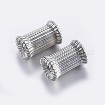 Perles ondulées en laitonKK-K197-31P-1