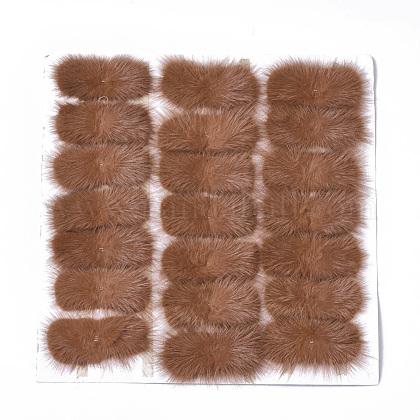 Faux Mink Fur Rectangle DecorationFIND-S320-01A-04-1
