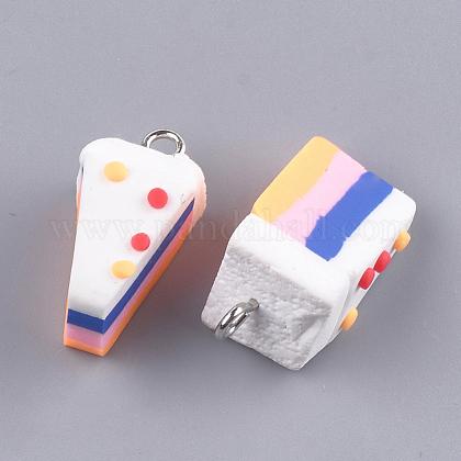 手作り樹脂粘土ペンダントCLAY-T015-02A-1