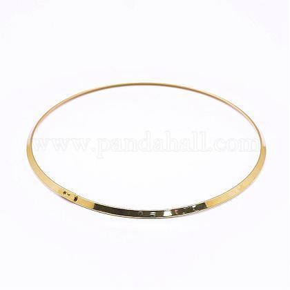 Collares gargantilla de latónNJEW-P172-4.5mm-G-1