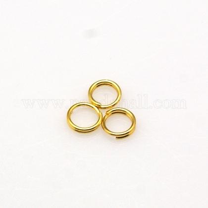 Латунные разрезные кольцаX-JRDC5MM-NFG-1