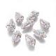 Perlas naturales abalorios de agua dulce cultivadasPEAR-F015-31-1
