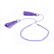 Adjustable Nylon Thread Charm BraceletsBJEW-JB04378-01-1