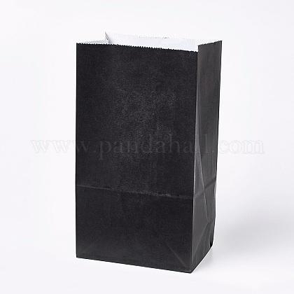 Sac en papier kraft de couleur pureCARB-WH0008-10-1